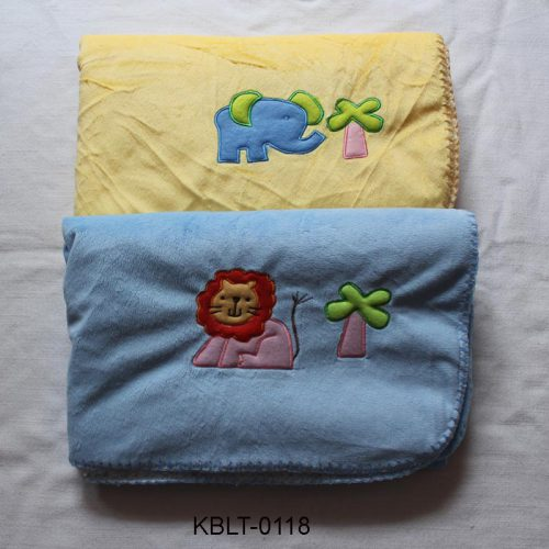 thick terry baby blanket